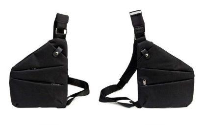 Сумка-crossbody-кобура-мессенджер ArtX Style #038 черная
