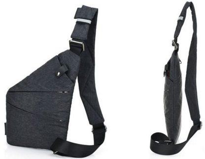 Сумка-мессенджер ArtX Style Серый #001