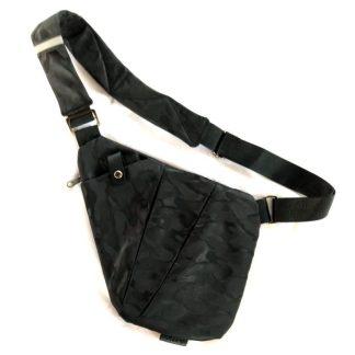 Рюкзак-сумка-кобура Cross Body ArtX Style Чёрный камуфляж #03JK