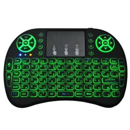 Беспроводная клавиатура ArtX i8 Wireless USB с тачпадом и подсветкой #514