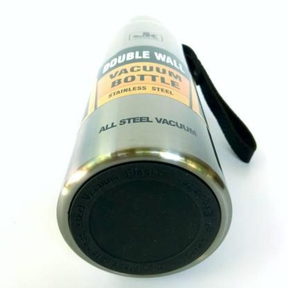 Термос ArtX JK повністю з нержавіючої сталі 0.5 літра сріблястий #450-0.5