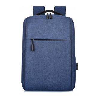 Городской рюкзак для ноутбука ArtX Minimalist-1  USB 17 л Синий #218-3