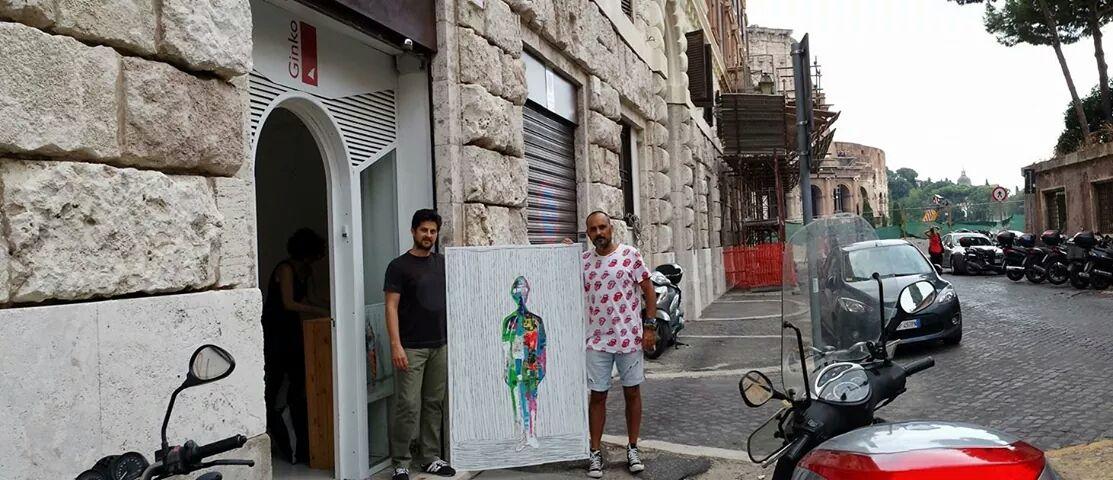 Exposición Galería Spazio Ginko de Roma - Septiembre 2013 (Foto 1)