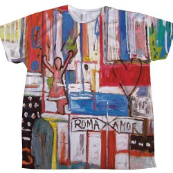 xavi garcia camiseta roma amor