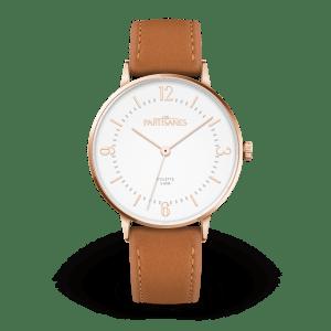 Les partisanes Colette blanc bracelet cuir