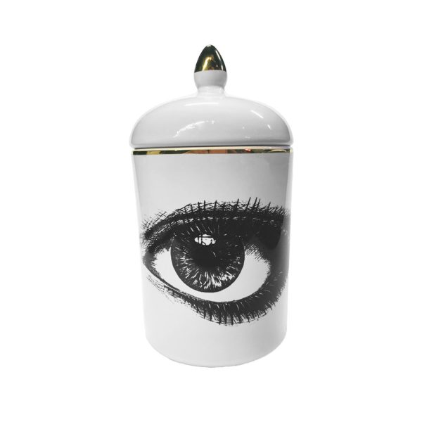 Rory Dobner right eye cosy candle (réceptacle à bougie)