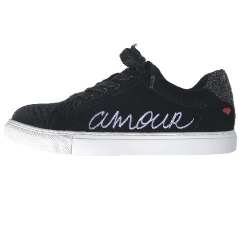 Bons Baisers de Paname sneaker Amour Velours Noir