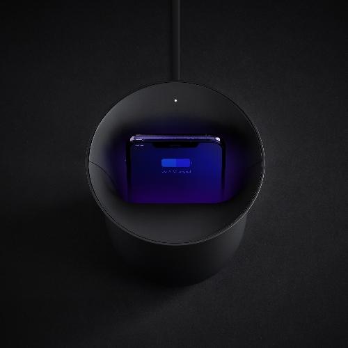 Lexon-chargeur-a-induction-desinfectant-oblio-noir-mate-artydandy