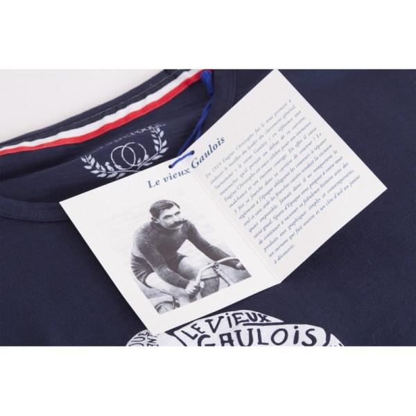 T-shirt-Sports-d-Epoque-Vieux-Gaulois-Velo-tatou-bleu-artydandy