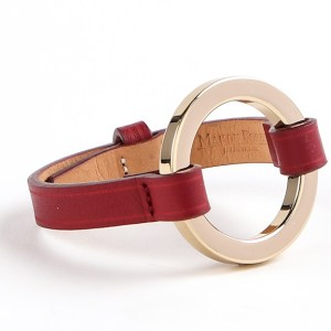maison-boinet-bracelet-cuir-grand-anneau-rouge-carmin-artydandy