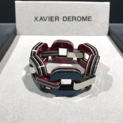 xavier-derome-bracelet-acetate-recto-rouge-verso-bleu-artydandy