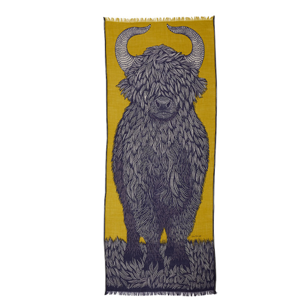 Inouitoosh-echarpe-yako-yellow-bleu-artydandy