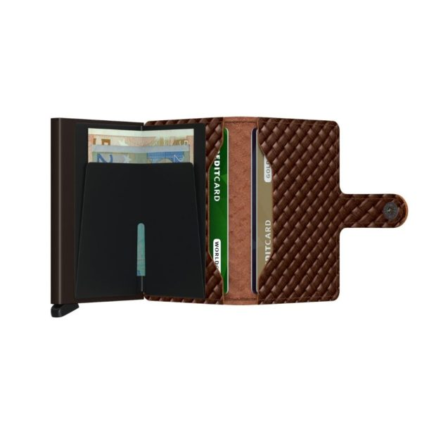 Secrid-porte-cartes-cuir-tresse-marron-ouvert-artydandy