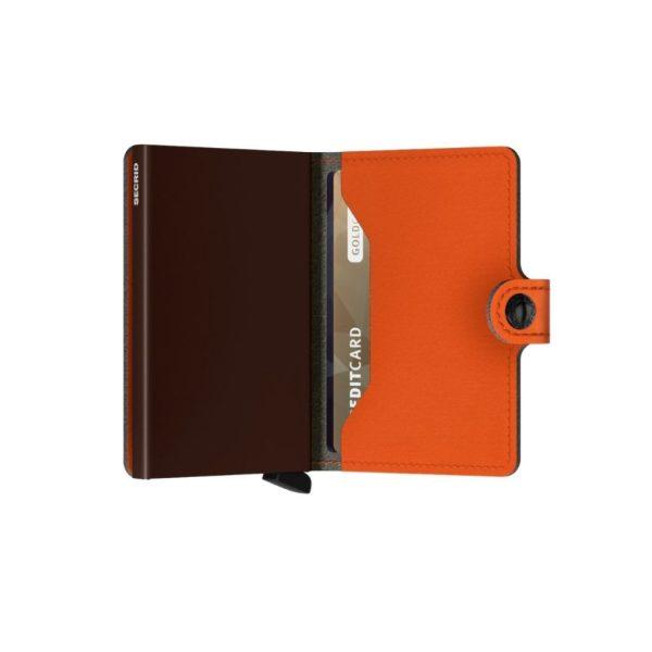 Secrid-porte-cartes-miniwallet-yard-orange-semi-ouvert-artydandy