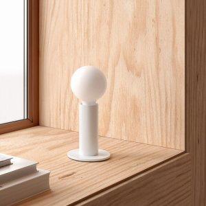 Edgar-lampe-sol-blanc-G95-ampoule-Opaque-Spherique-artydandy