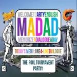 The Pool Tournament: ArtyEnglish Fluency and Memory Training for English Mastery