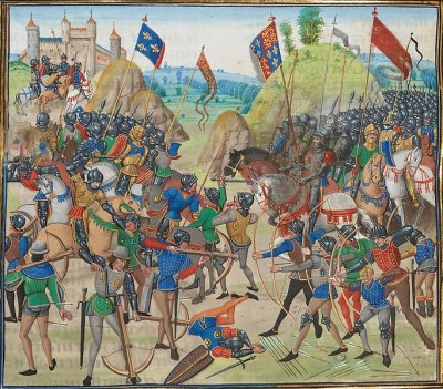 warriorBattle_of_crecy_froissart