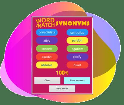 THUMB-WOWPOW-SYNONs
