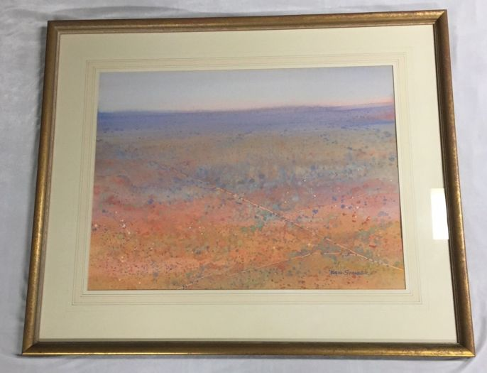 original-watercolour-by-ben-shearer-signed-and-info-on-verso-roads-north-nt1