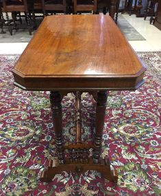 victorian-mahogany-side-table-with-ornately-turn-legs-2