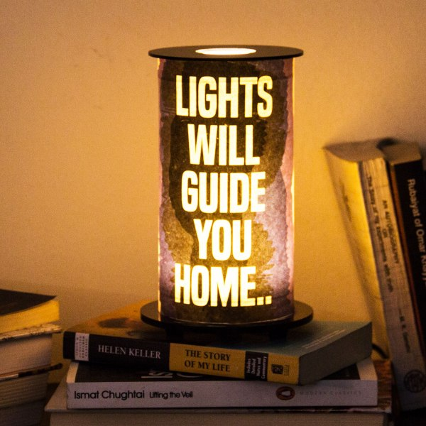 Lights will guide you home-Coldplay