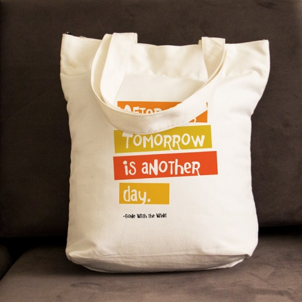 Tomorrow is another day Bag (White)