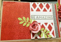 CTMH Stamp of the Month This Moment: Be Amazing Card supplies from www.maz.ctmh.com.au
