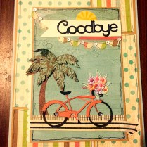 Artfully Sent Bike, Goodbye Card