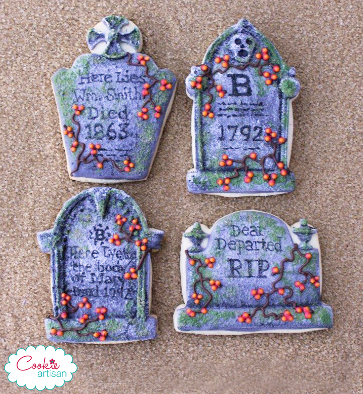 Maryann Rollins - The Cookie Artisan      Fabulous new tombstone cutters from  Whisked Away Cutters