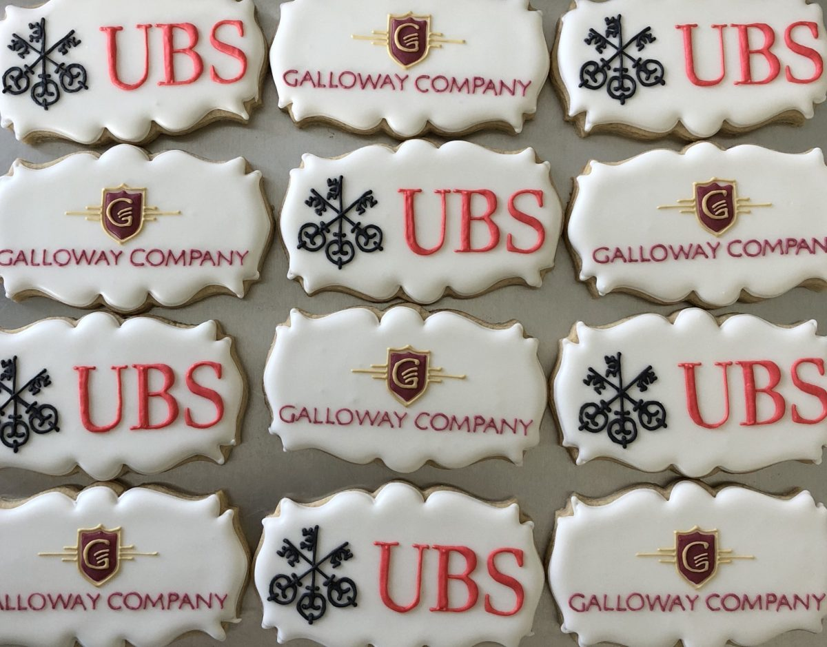 More of Ann's logo cookies