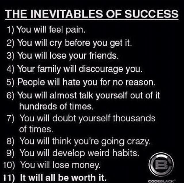 success inevitables