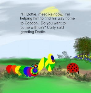 Rainbow meets Dottie