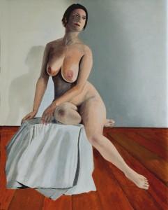 Woman on Cloth