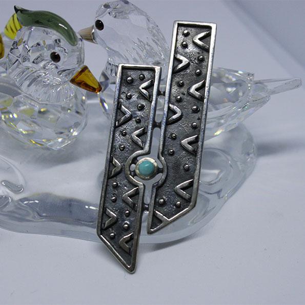 Handmade Silver Sterling Pendant from Art of Armenian Carpet