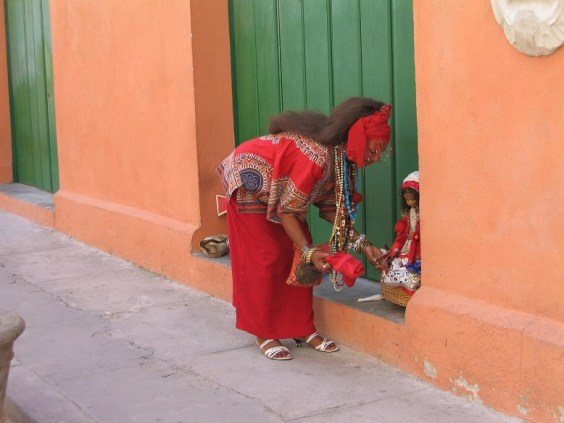 Santeria woman - Travel the World
