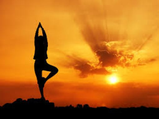 Bright sunset/yoga - Six Surprising Ways You Can Improve Your Physical and Mental Health