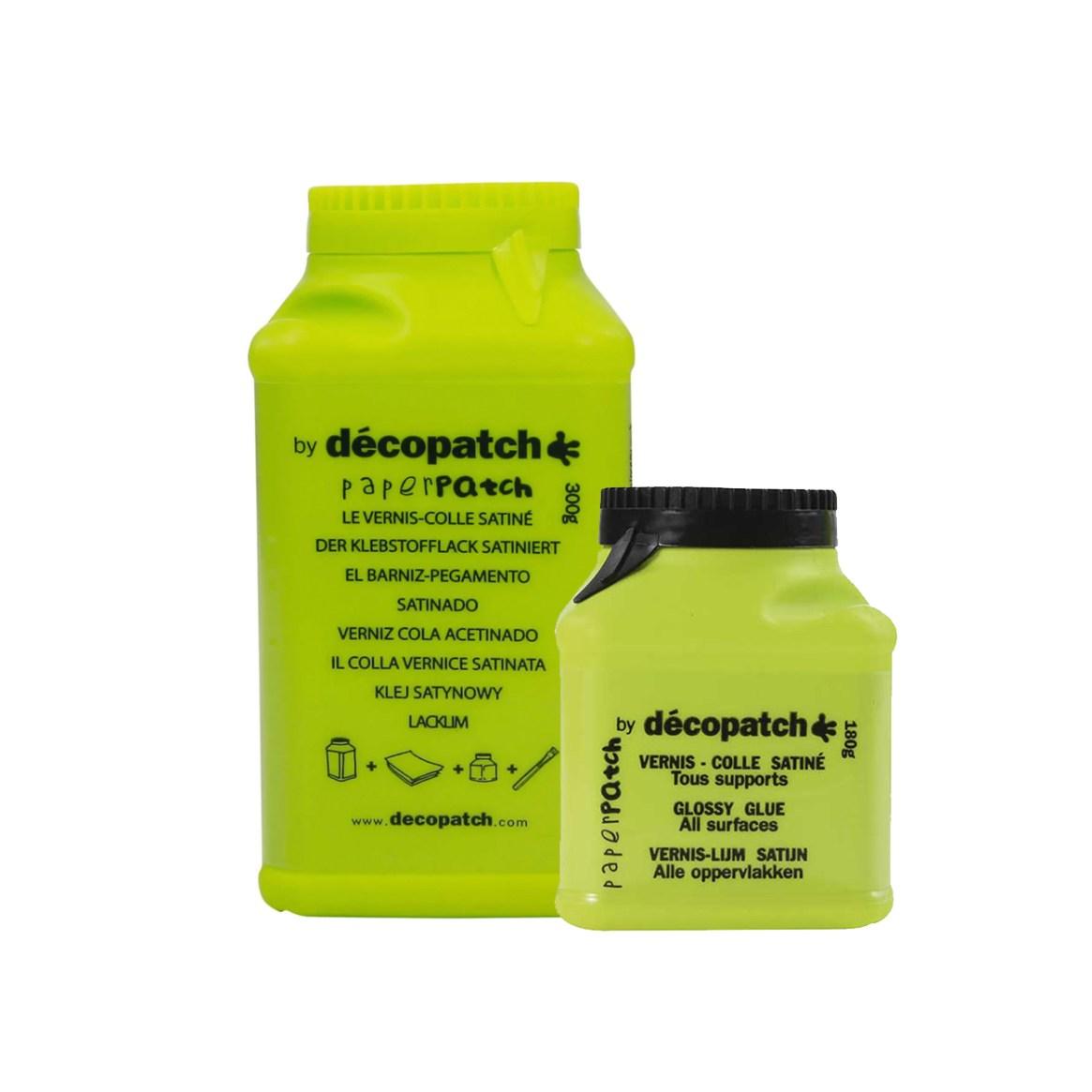 Decopatch glue set