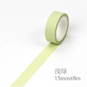 Green soft paper