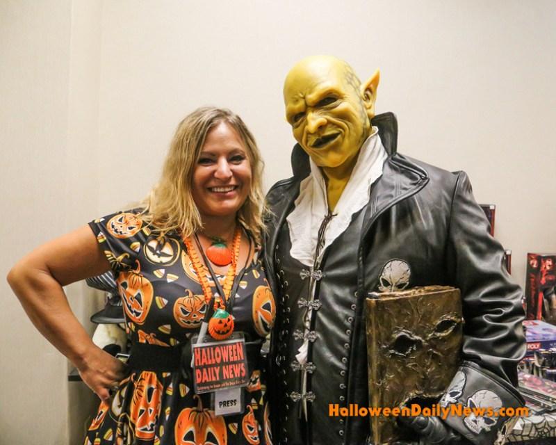 HDN's Sue Artz with Laitram Tsol