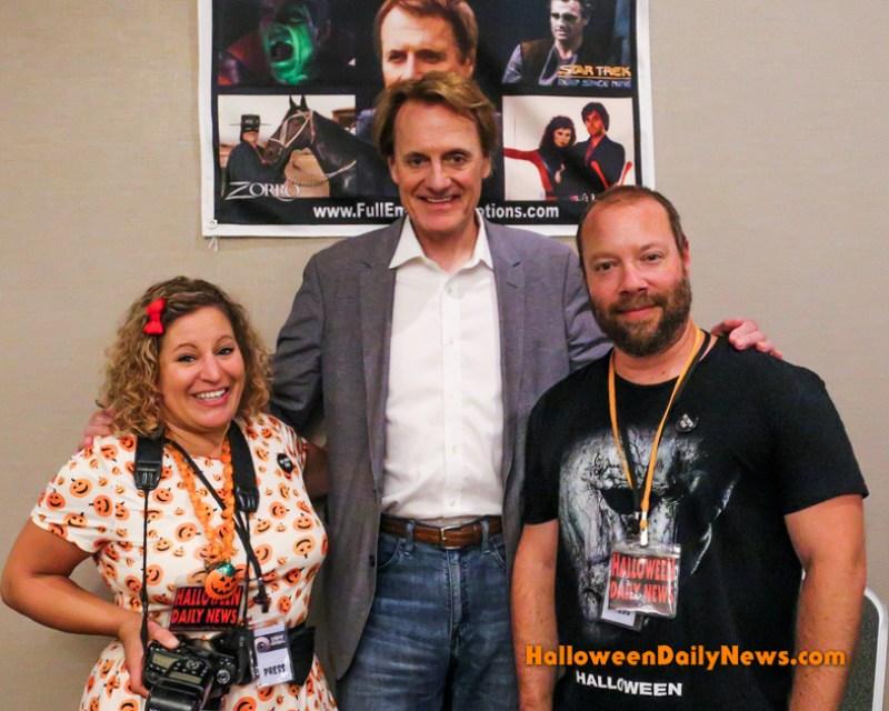 Duncan Regehr with HDN's Sue and Matt Artz