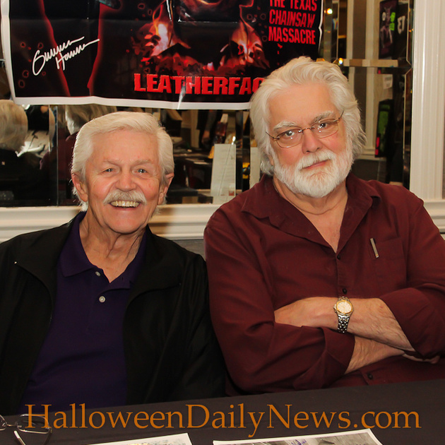 Dick Warlock and Gunnar Hansen
