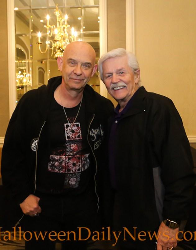 Doug Bradley and Dick Warlock