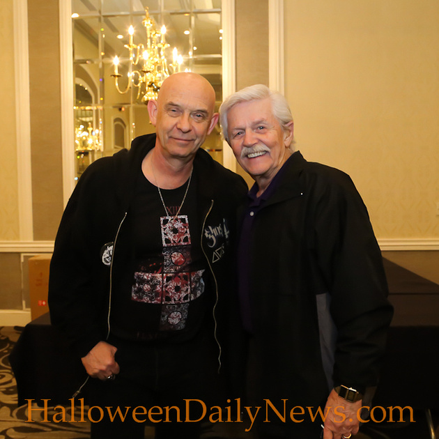 Doug Bradley and Dick Warlock