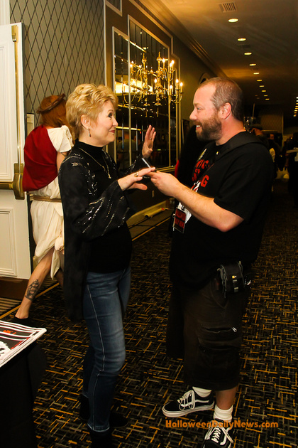 HDN's Matt Artz interviewing Dee Wallace