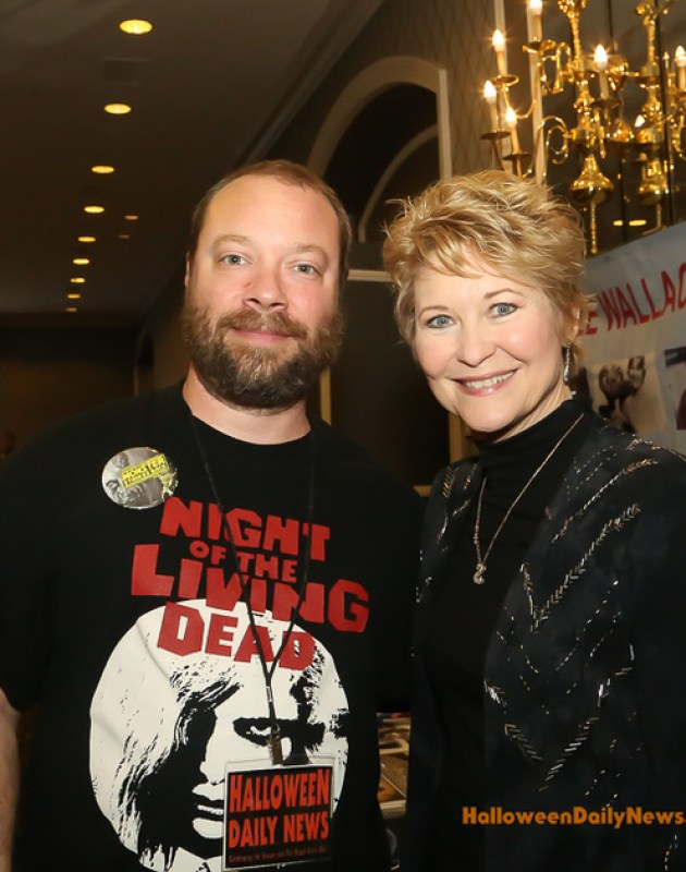 HDN's Matt Artz with Dee Wallace