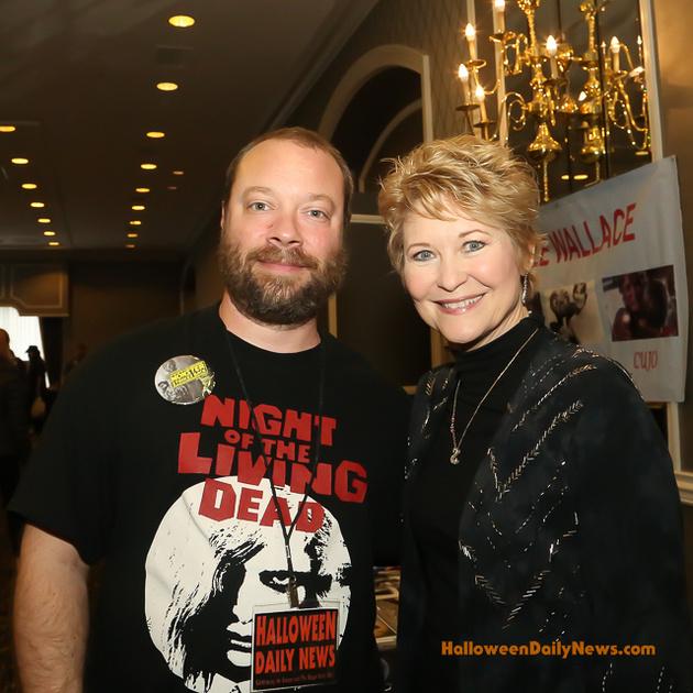 HDN's Matt Artz with Dee Wallace