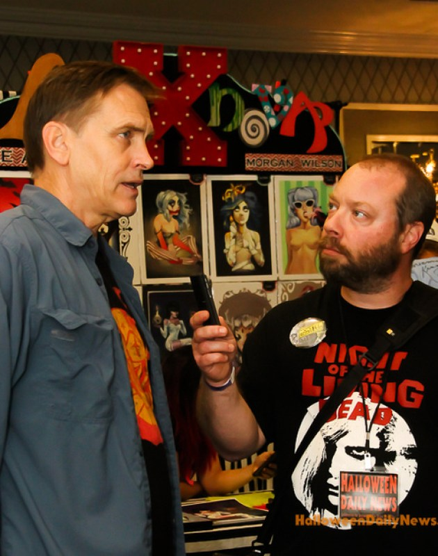HDN's Matt Artz interviewing Bill Moseley