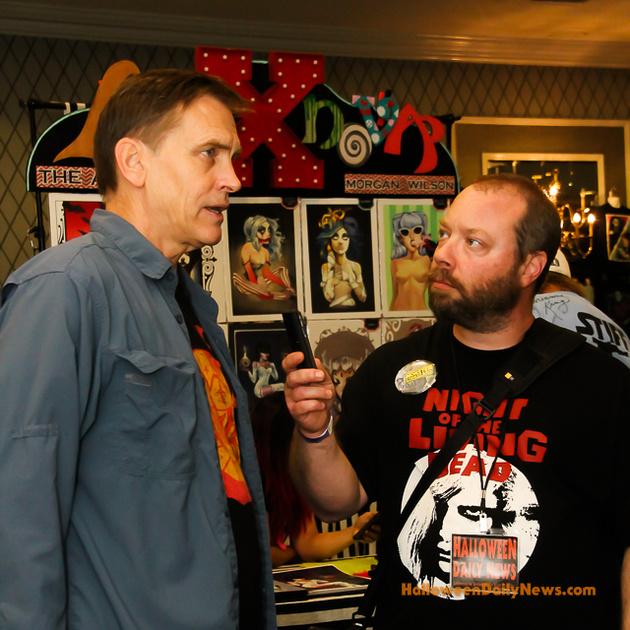HDN's Matt Artz interviewing Bill Moseley