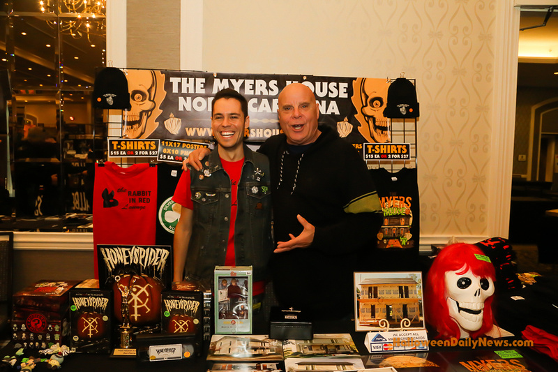 Tony Moran with Kenny Caperton of The Myers House NC