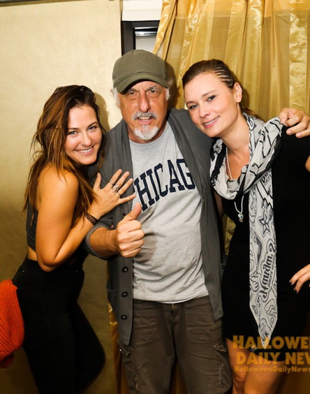 Scout Taylor-Compton, Nick Castle, and Kristina Klebe